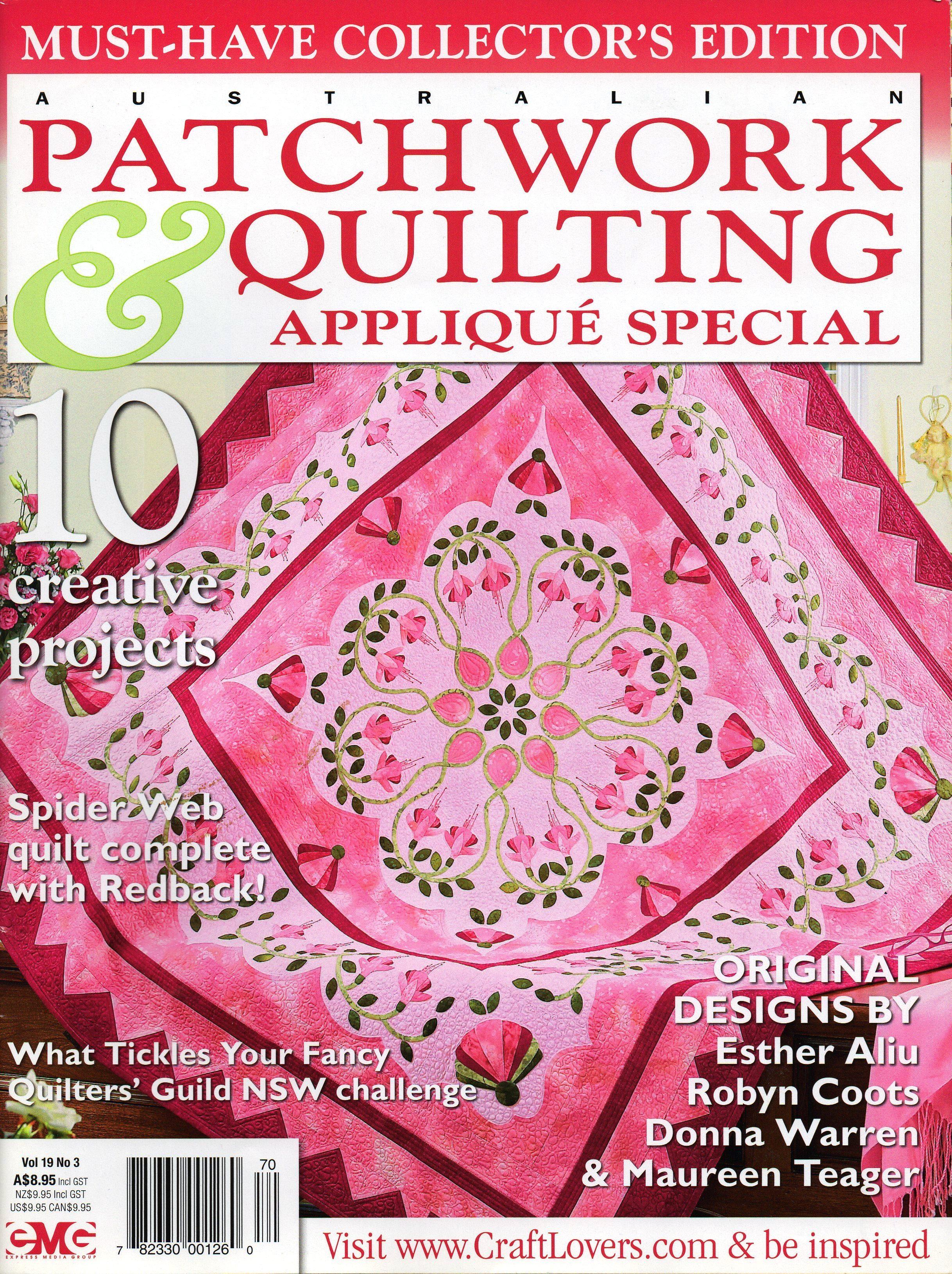 Aust. Patchwork & Quilting 2010 #3