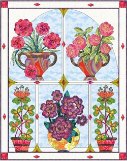On My Window, Flowers Bloom