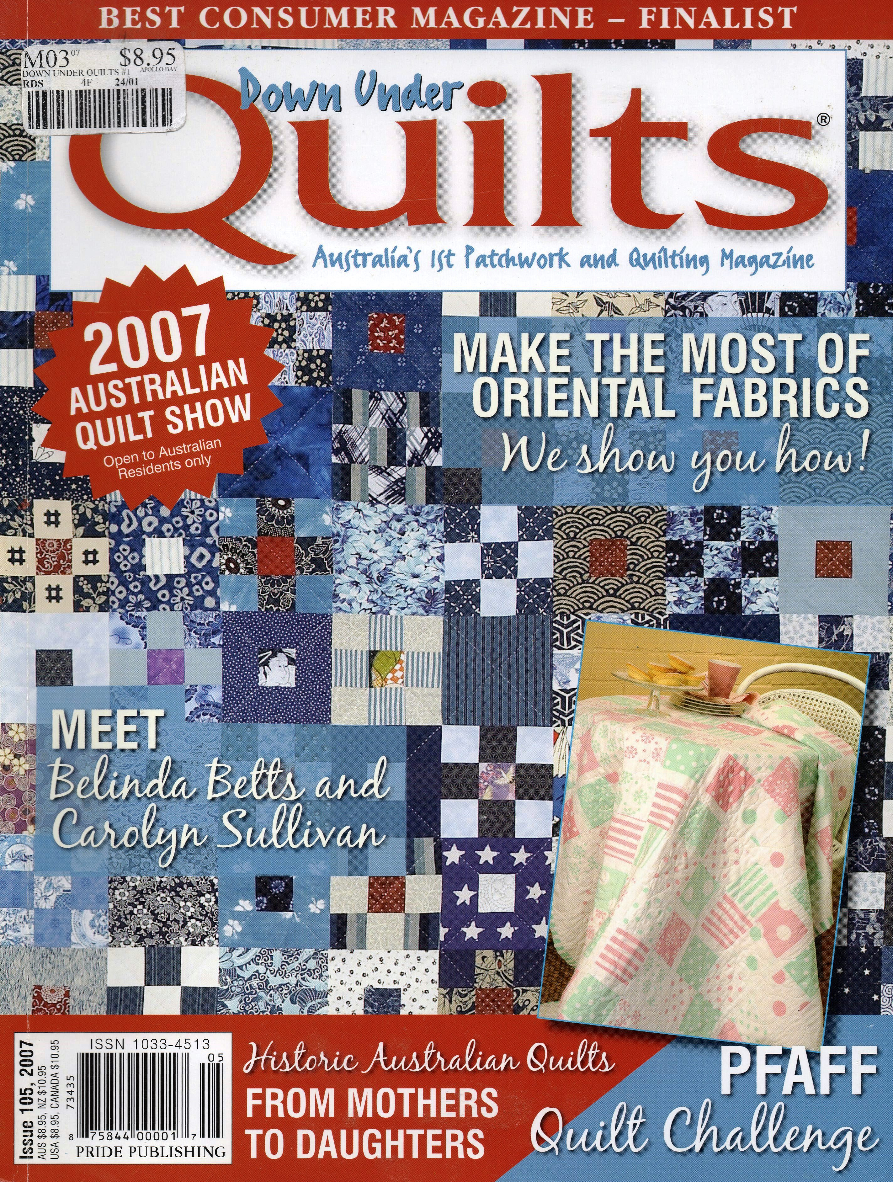 Down Under Quilts 2007 #105
