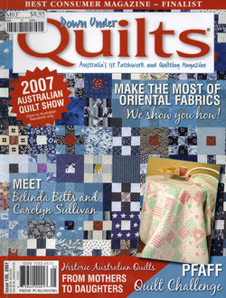 Down Under Quilts 2007 #105