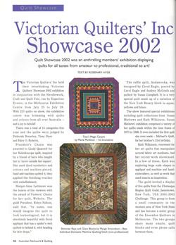 Patchwork & Quilting 2002   V 10 #5
