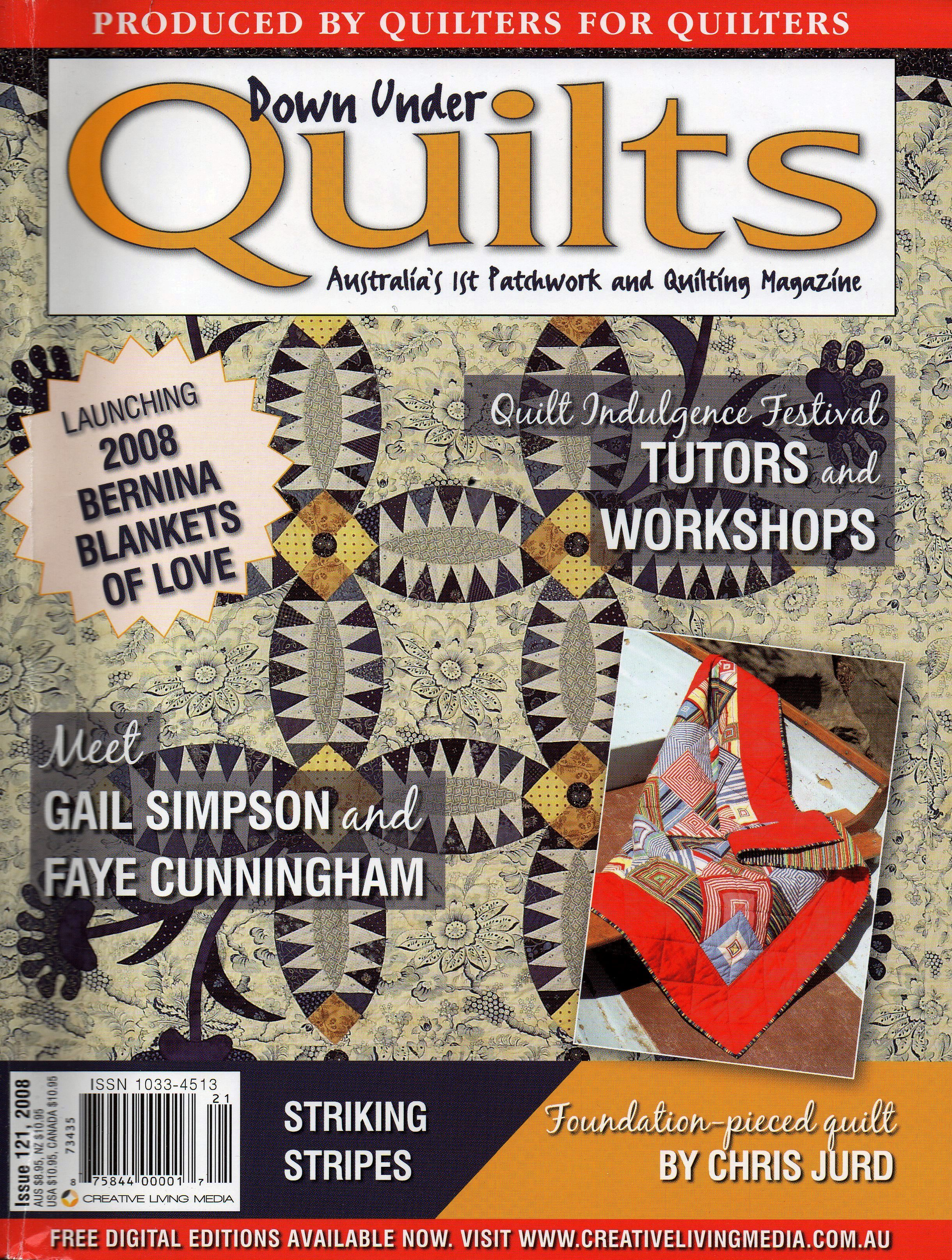Down Under Quilts 2008 #121