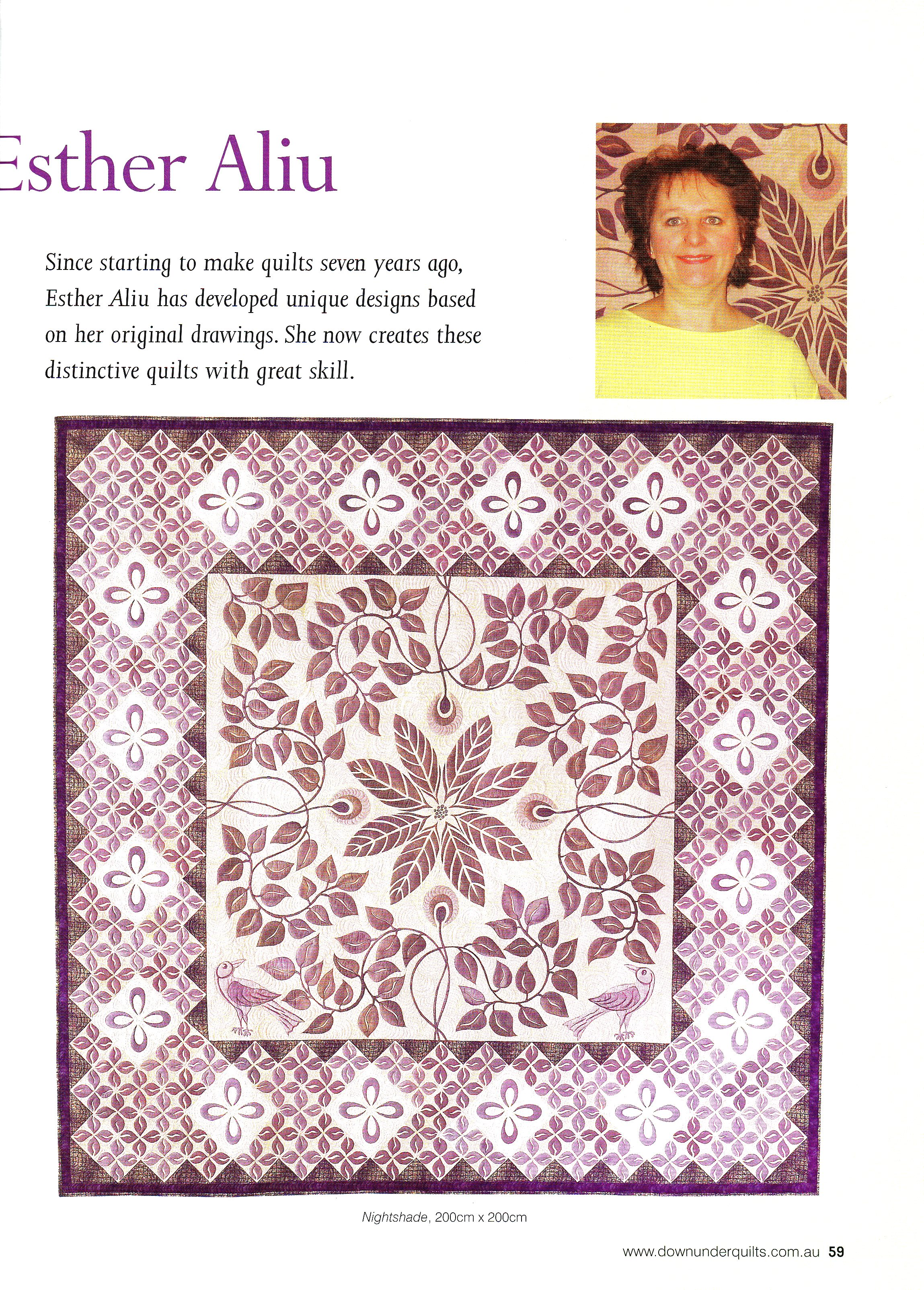 Down Under Quilts 2007 #115