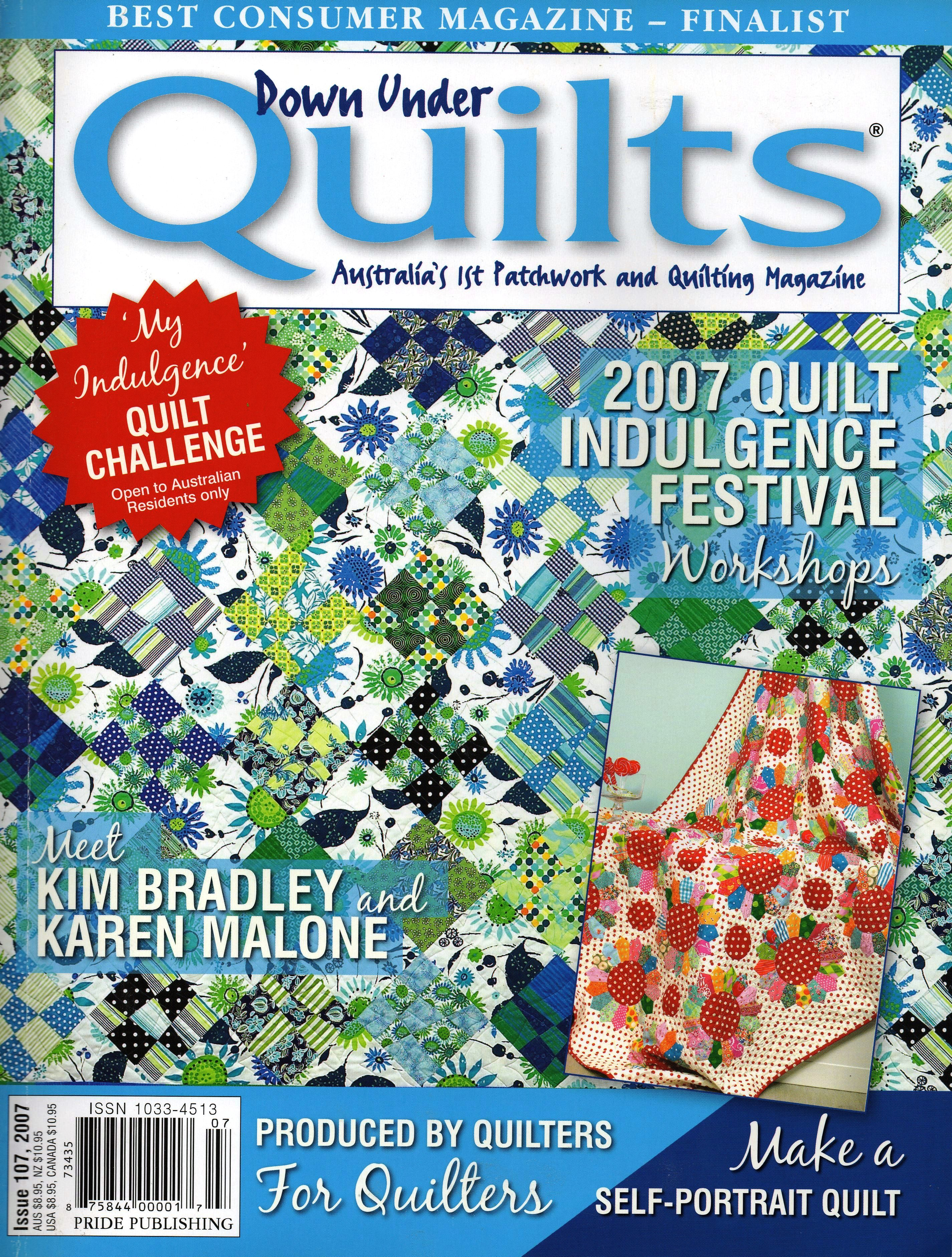 Down Under Quilts 2007 #107