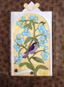 Forget Me Not Wall Hanging