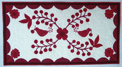 Cherry Thieves Table Runner