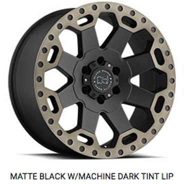 Black Rhino Warlord Machine Dark Tint