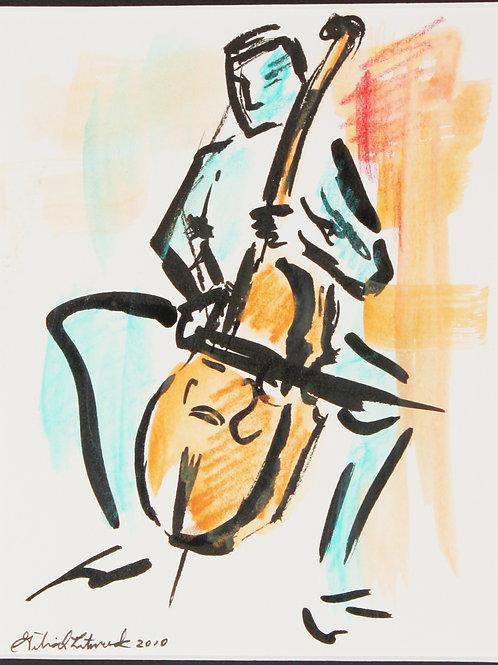"""""""Cello in Green"""""""