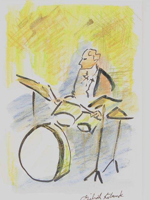 """""""Green Drummer"""""""