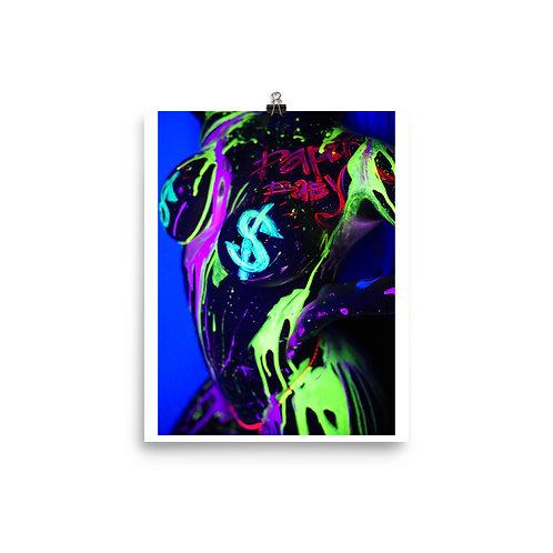 Neon Drip Poster 2