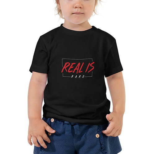 Real Is Rare Toddler Short Sleeve Tee