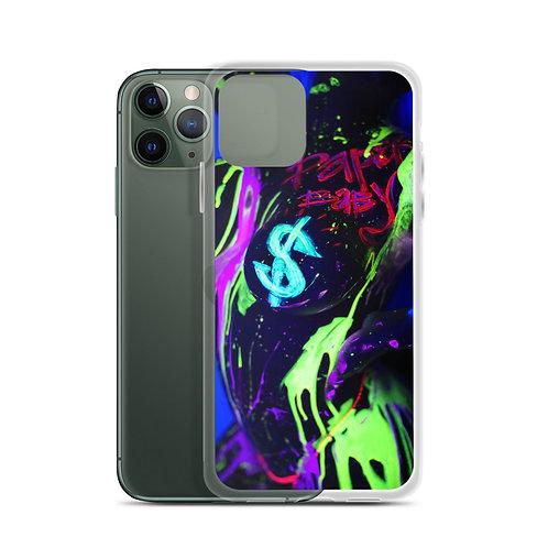 Neon Drip iPhone Case