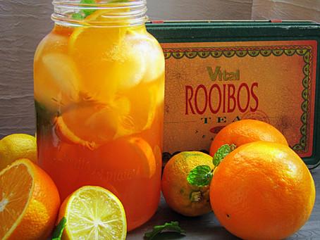 Lemon and Orange Rooibos Ice Tea