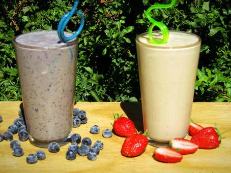 Summer Berry Smoothies