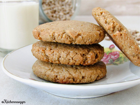 SUNFLOWER SEED BUTTER BISCUITS