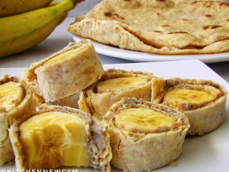 FLOP PROOF ROTI WITH BANANA