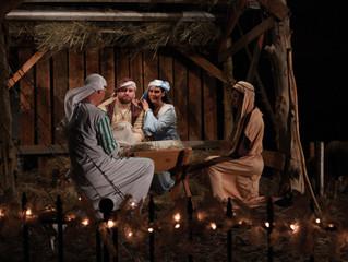 Living Nativity Celebrates the Birth of Christ