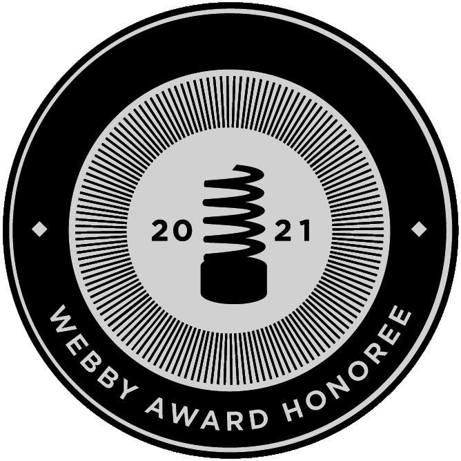 Webby Awards Honoree 2021