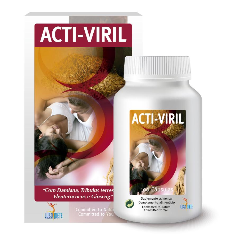 ACTI-VIRIL 100 caps - Lusodiete