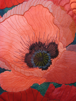 Vivacious Vermillion Detail