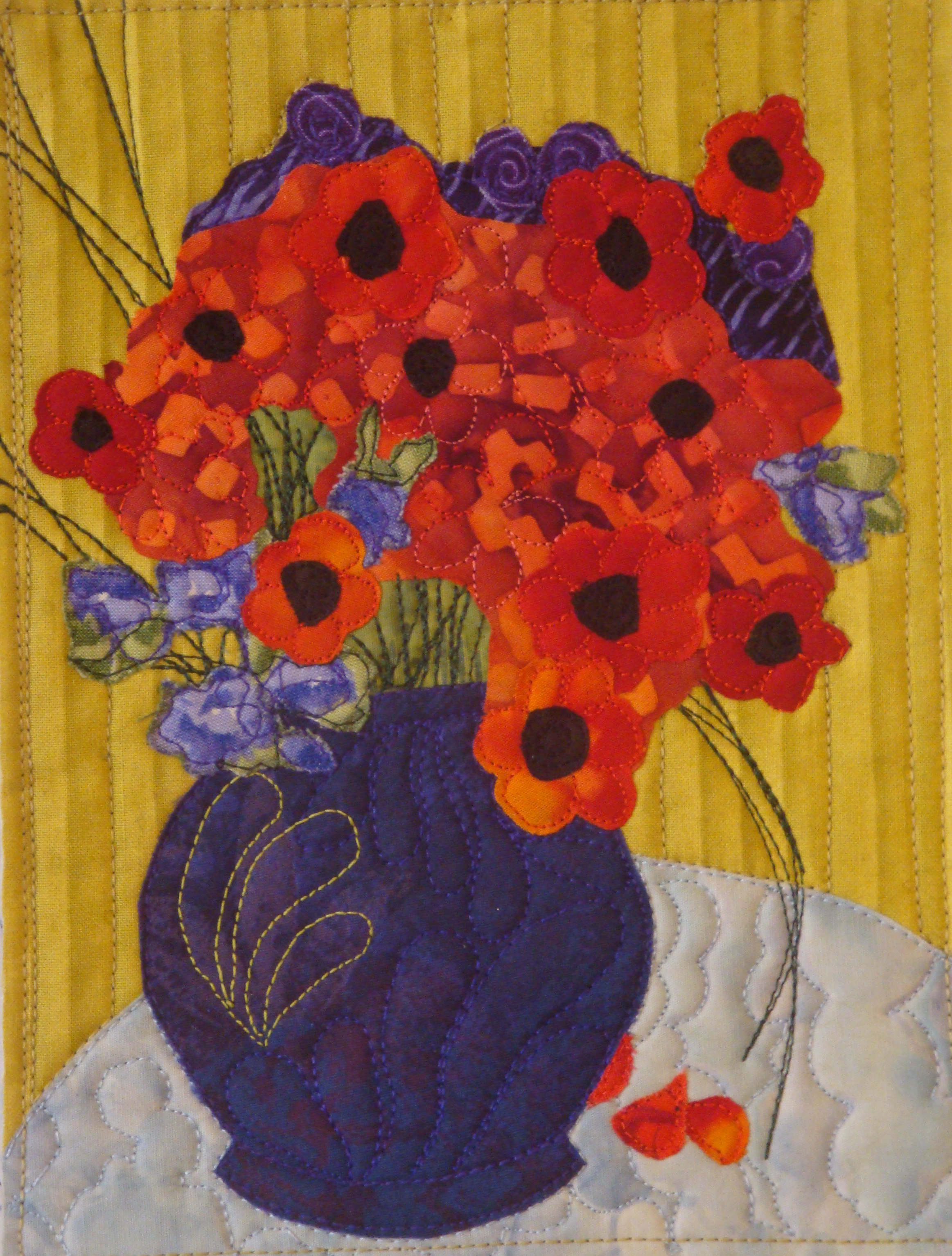 Channeling Van Gogh: Red Poppies