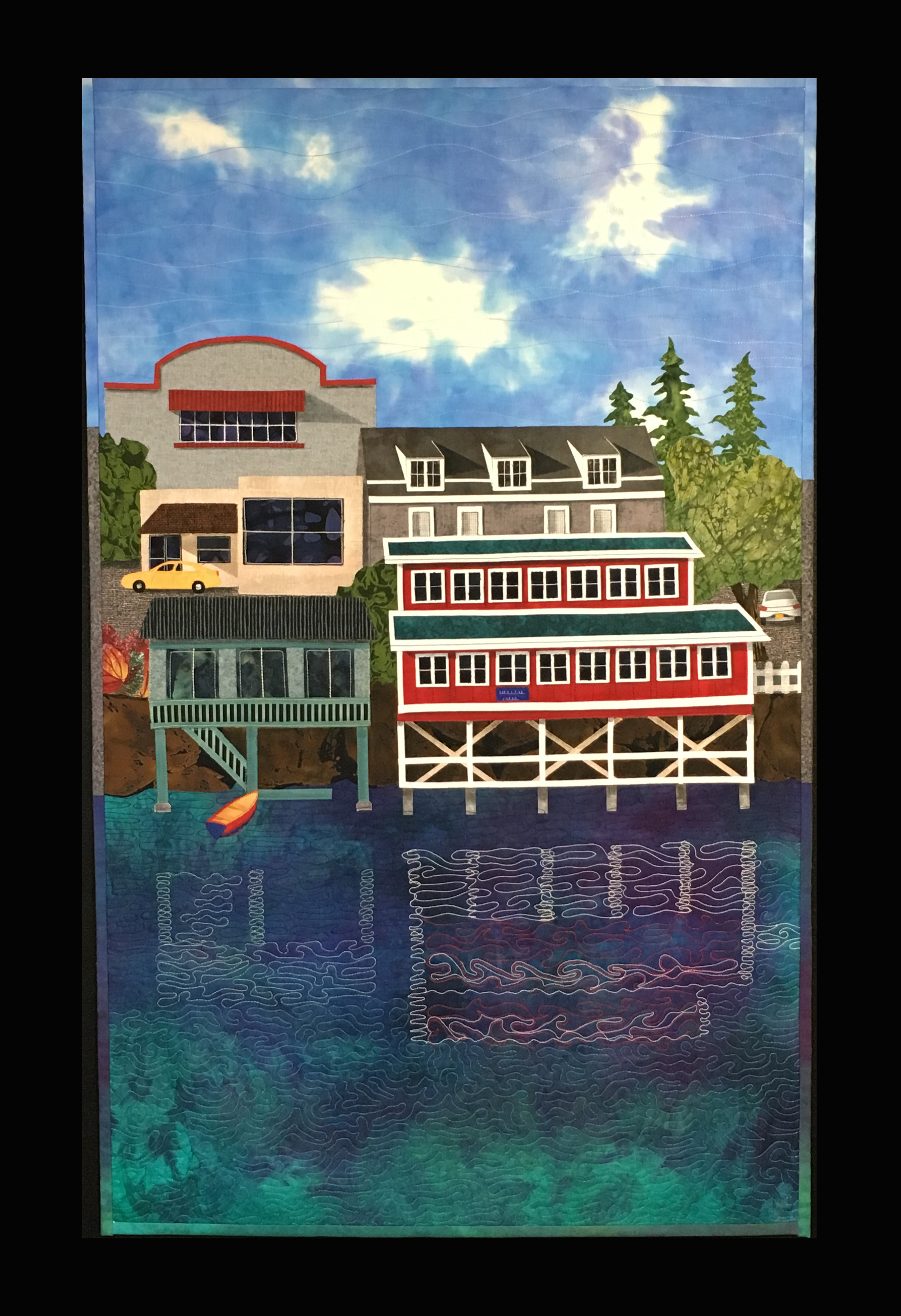 Farewell Friday Harbor, 34 x 22_