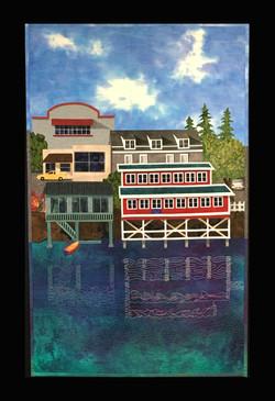 Farewell Friday Harbor, 34 x 22_