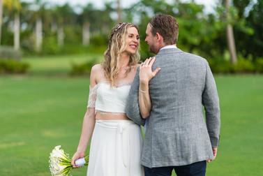 Destination wedding at bahamar