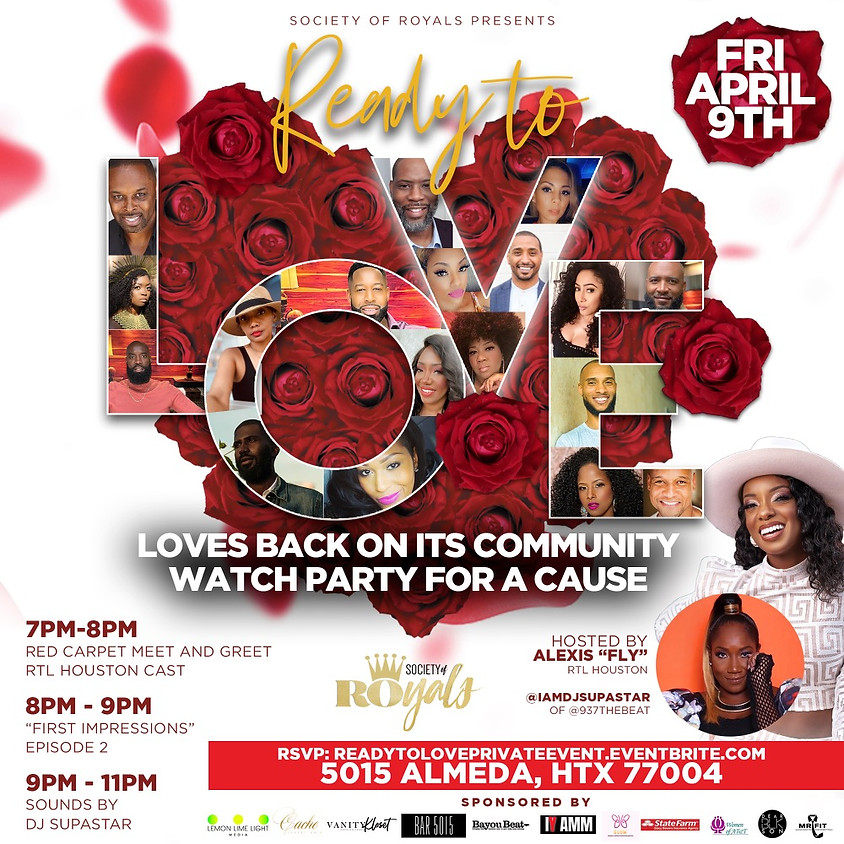Society of Royals presents Ready To Love: Loves Back On Its Community