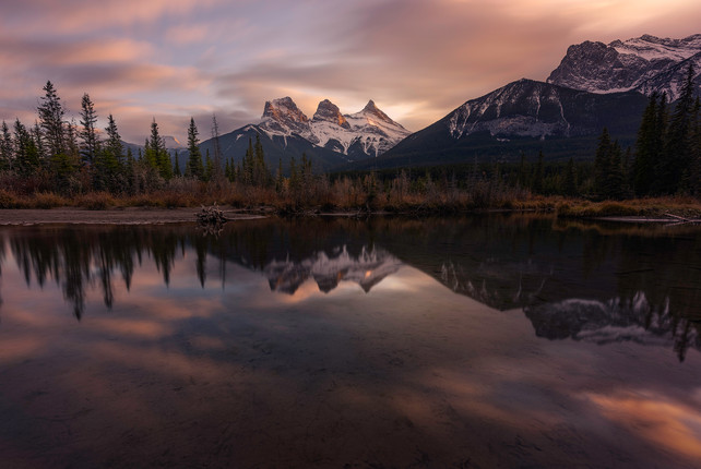 The Three Sisters - Canmore