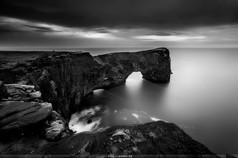 Dyrholaey. Islandia