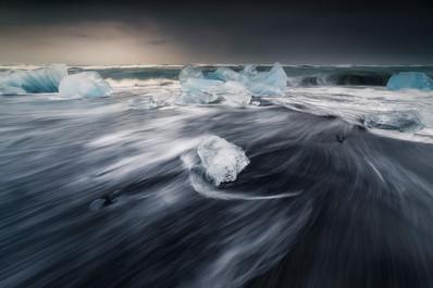 Jokulsarlon. Islandia