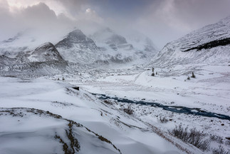 Icefields Parkway - Columbia Glacier