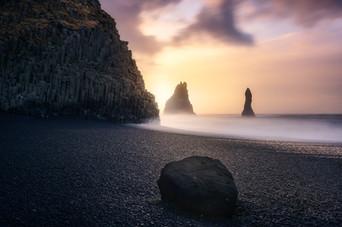 Reynisfjara. Islandia