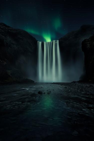 Skogafoss. Islandia