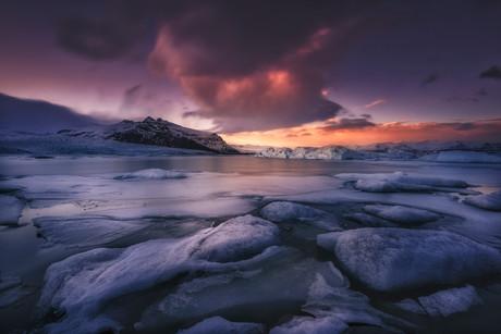 Fjarllsarlon. Islandia