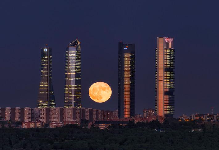 Superluna 2016. Madrid