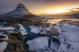 Kirkjufell. Islandia