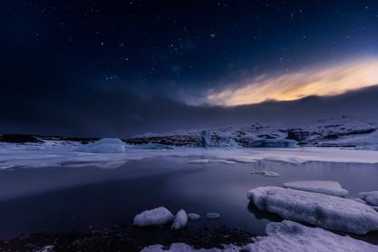Fjallsarlon. Islandia