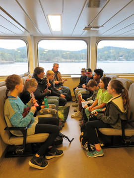 Music on the ferry