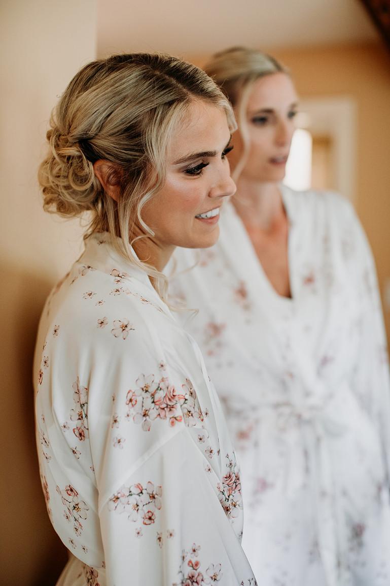 Whistler Wedding makeup