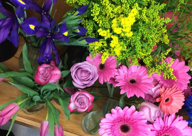 Fleurs coupées variées