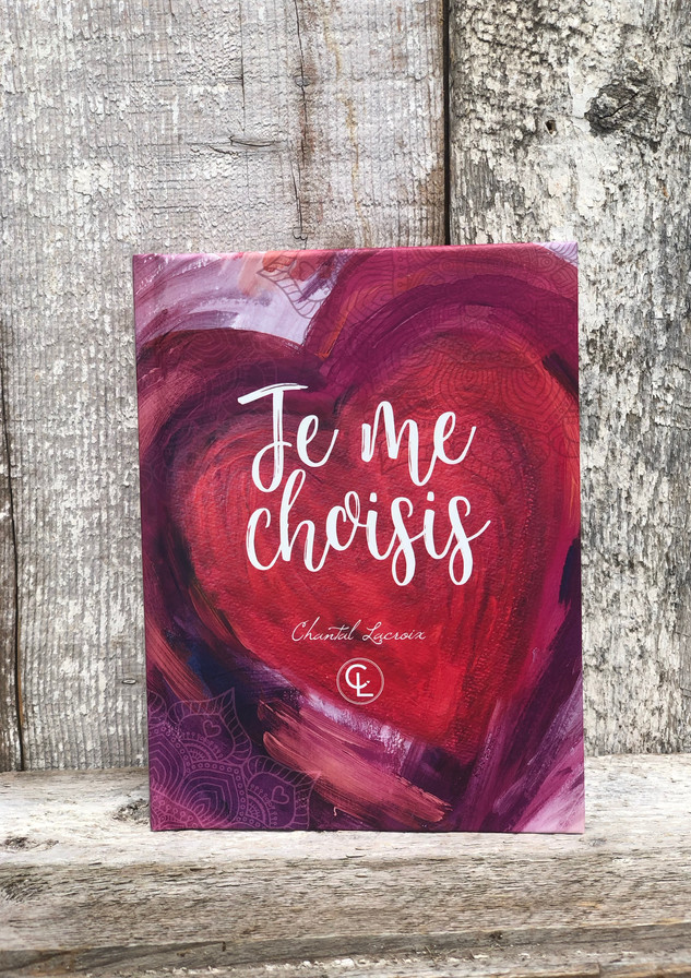 """Journal d'écriture """"Je me choisis"""""""