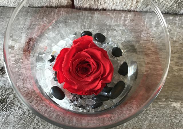 """Rose éternelle """"Rouge clair"""""""