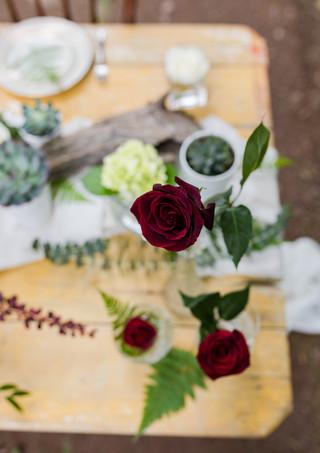 Roses rouges naturelles