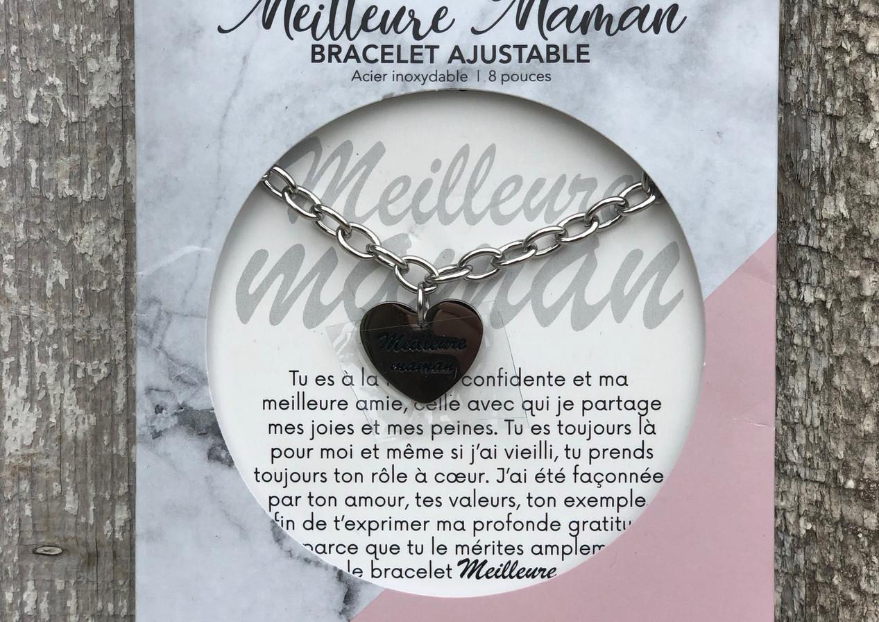 "Bracelet ""Meilleure maman"""