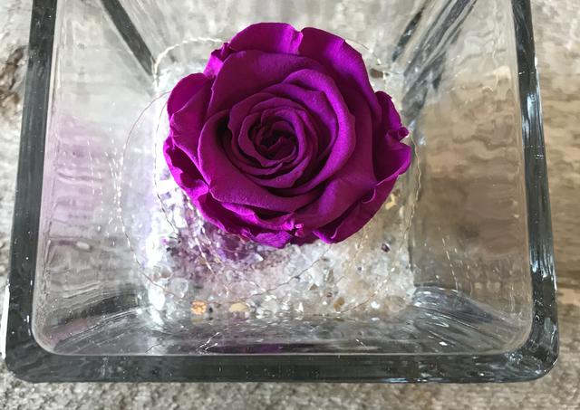 """Rose éternelle """"Violet"""""""