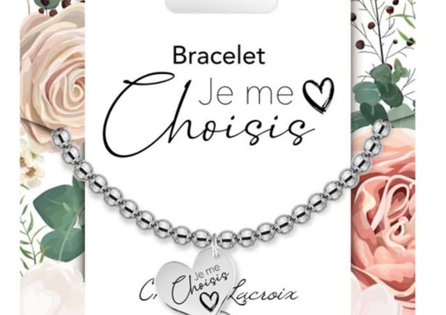 Bracelet ''Je me choisis Nouveau''