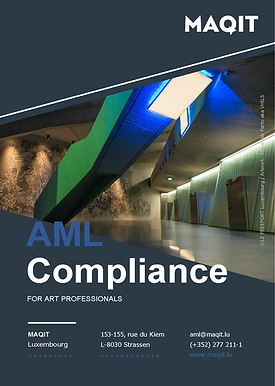 AML Compliance for Art Professionals