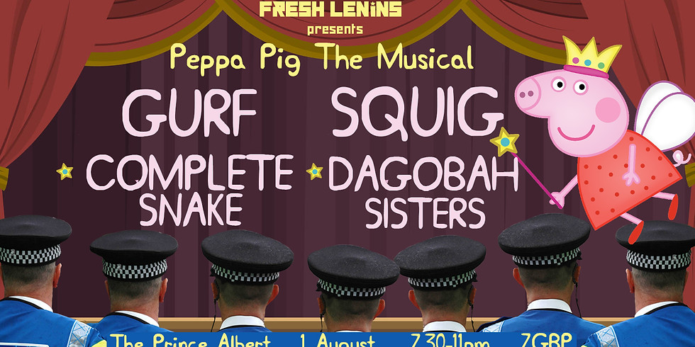 Fresh Lenins presents Peppa Pig The Musical